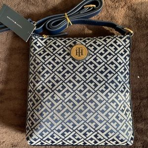Tommy Hilfiger Monogrammed Crossbody Bag